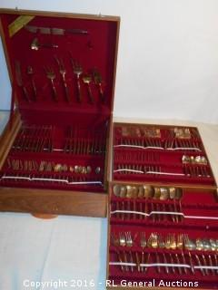 Gigantic Vintage Flatware Set in Case - Bangkok, Thailand