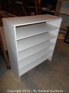"3 Stackable Shoe Shelf Racks - 31"" W X 11.5"" D X 34.75"" T"