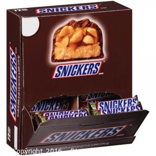 New Unopened Case of 72 Snickers Bars