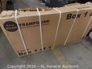Skywalker Trampoline Jump N Dunk Tramp Package Damaged New In Box
