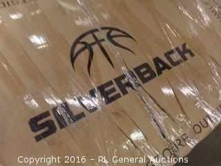 Silverback In ground Basketball System Package Damaged New in Box