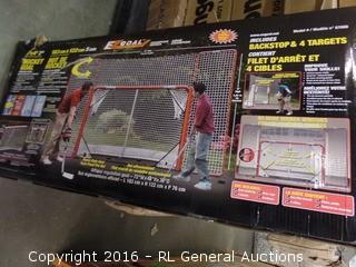 EZ Goal Champion Series Hockey Goal Package damage New In Box