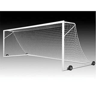 1 Kwik Goal Deluxe European Club Goal with Wheels, 8 x 24-Feet Retails $2,306.58 (We have all 7 Boxes, We are not Sure of Completion) Please Preview