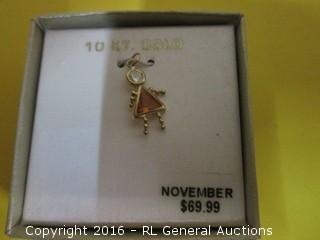 November charm MSRP $69.99