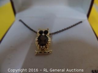Owl Necklace MSRP $59.99