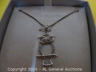 Owl Necklace MSRP $69.99