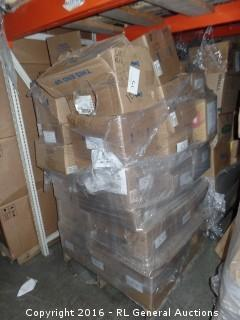 Pallet Lot Of Nut, Washers And,Bolts