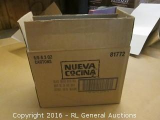 Box Lot Nueva Cocina Black Beans & Rice Mix.