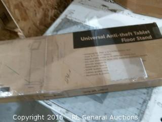 Universal Anti theft Tablet Floor Stand