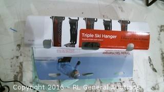 Triple Ski Hanger