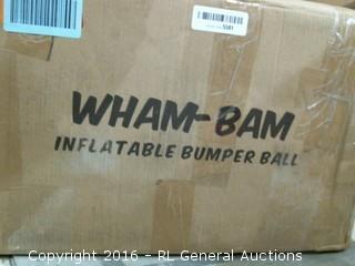 Wham Bam Inflatable Bumper Ball