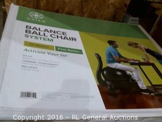 Balance Ball chair System