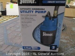Automatic summersible Utility Pump