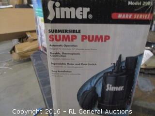 Summersible Sump Pump