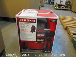 Craftsman Wall Mounted wet/Dry Vac