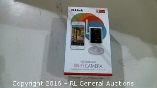 D Link HD Outdoor WiFi Camera