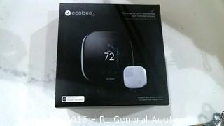 ecobee 3 Smarter wi fi thermostat