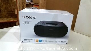 Sony System Audio Personnel Powers on Please Preveiw