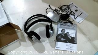 TV Listener Stereo Wireless Headset