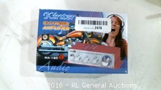 Kinter HiFi Stereo Amplifier