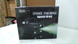 Rock Smoke Machine Superkit see pics Powers on Please Preview