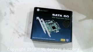 Iocrest SATA 6G PCI Express card