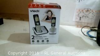 Vtech 2 Handset Cordless