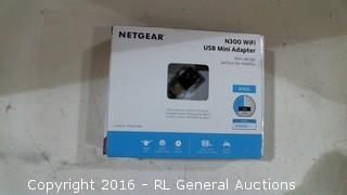 Netgear N300 Wifi USB Mini Adapter