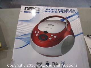 Portable CD Radio Player