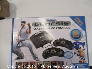 Genesis Classic Game Console See Pics