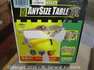 Any Size Table