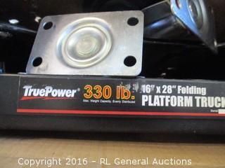 Tru Power Folding Platform Truck