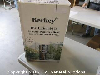 Berkey the Ultimate in Water Purification