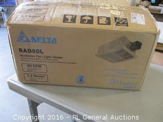 delta Ventilation Fan/ Light/Heater