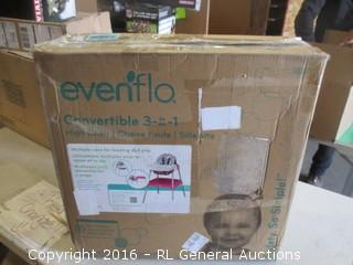 evenflo Convertible 3 in 1 Missing Seat