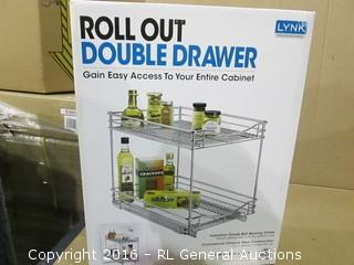 Roll Out Double Drawer