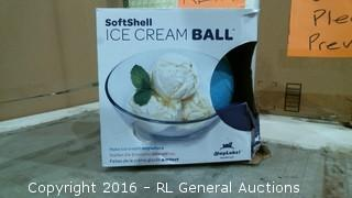 Softshell Ice Cream Ball
