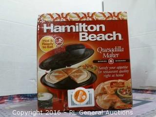 Hamilton Beach Quesadiila Maker