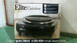 Elite Cuisine Electric Burner