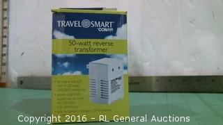 Travel Smart Conair  50 watt Reverse transformer