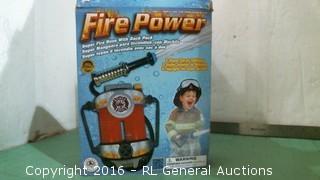 Fire Power Kid's Costume