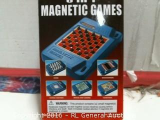6-in-1 Magnetic Games