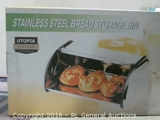 Stainless Steel Bread Storage Pan- Missing Pieces