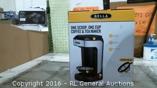 Bella One Scoop Coffee and Tea Maker