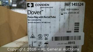 Dover Flatus Bag with Rectal Tube