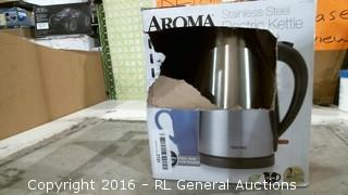 Aroma Stainless Steel Electric Kettle