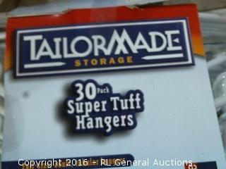 Tailor Made 30 Pack Super Tuff Hangers