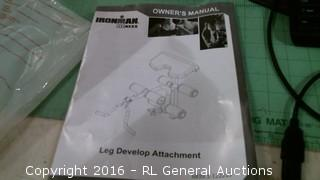 Ironman Leg develop attachment