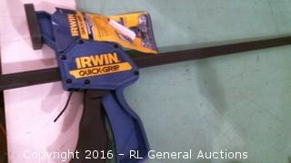 Irwin quick grip