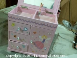 Kid's Jewelry Box
